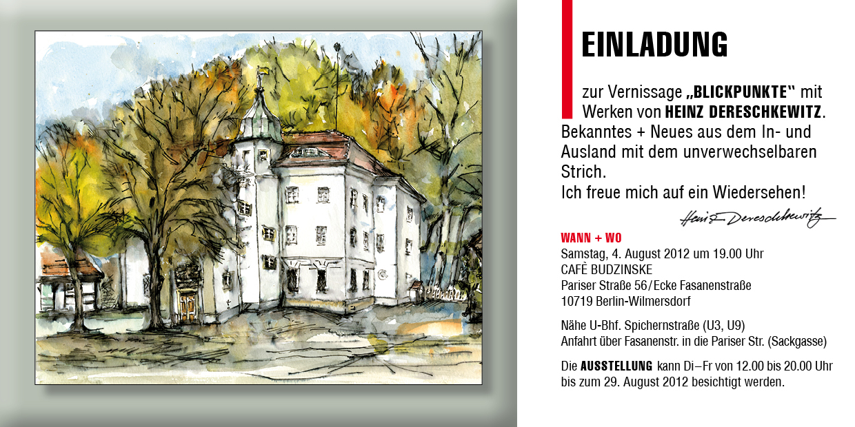 spree art | vernissage 2012, Einladung